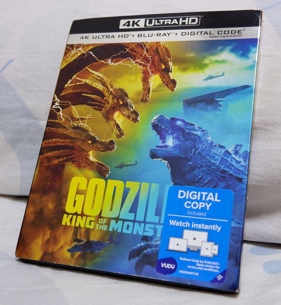 Godzilla 4K Blu-ray