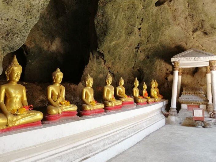 Hua Hin Cave Buddha in Thailand