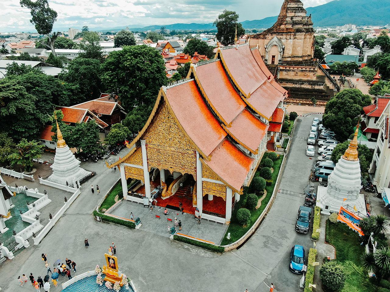 Chiang Mai Architectural Design Temple