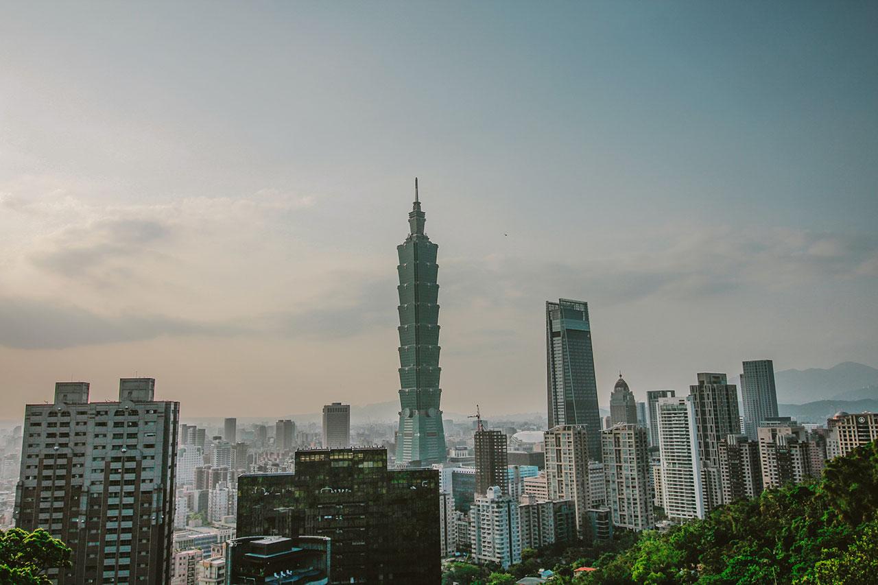 Taipei 101 Building Landscape