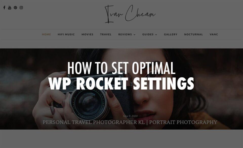 How to Set Optimal WP Rocket Settings