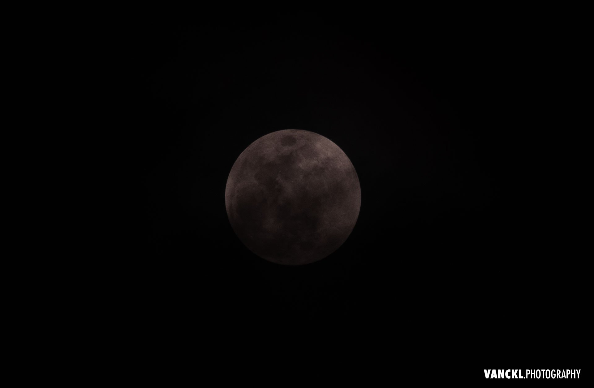 Strawberry Moon - Penumbral Lunar Eclipse June 2020