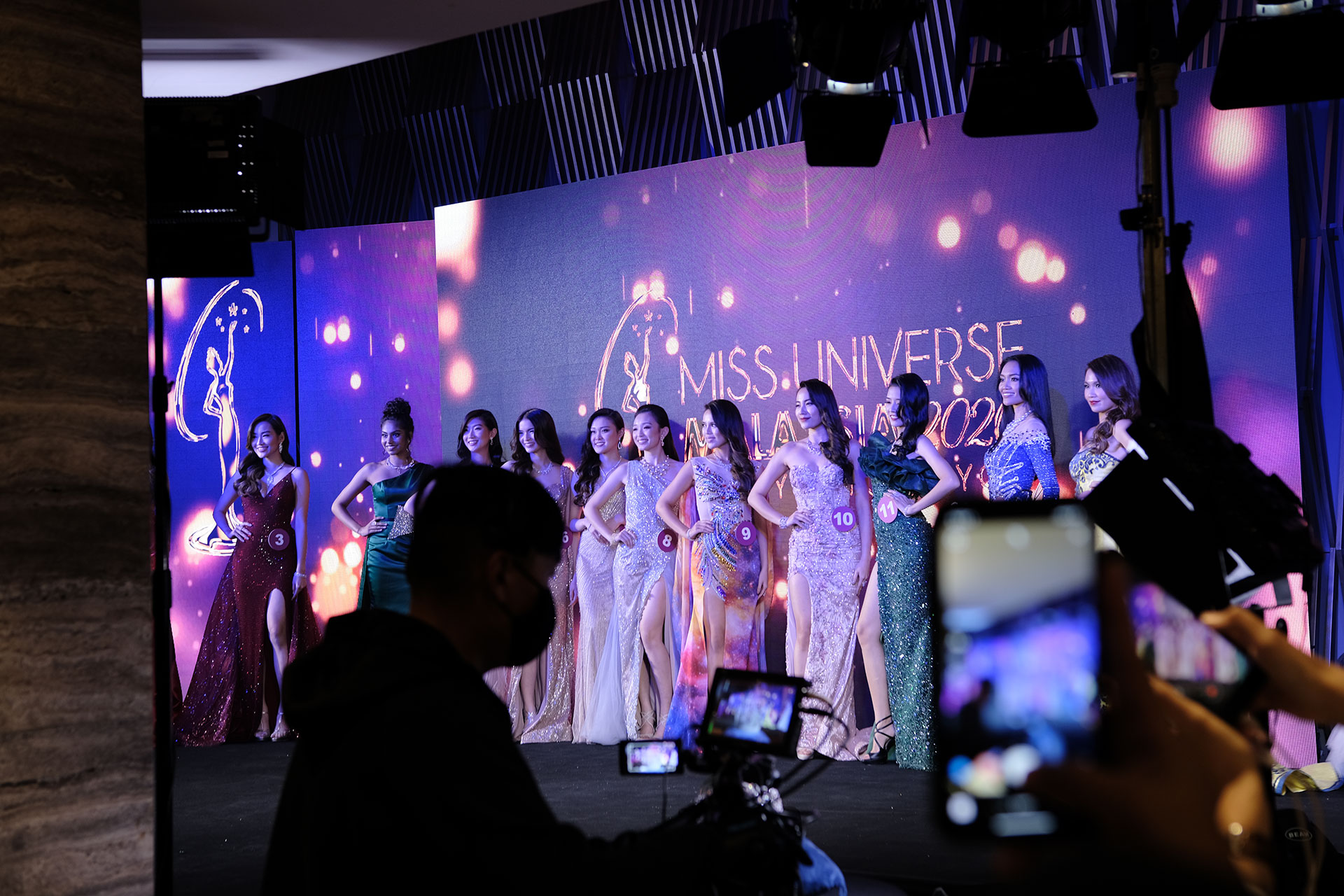 Miss Universe Malaysia 2020 e-Gala Beauty Pageant Contestants