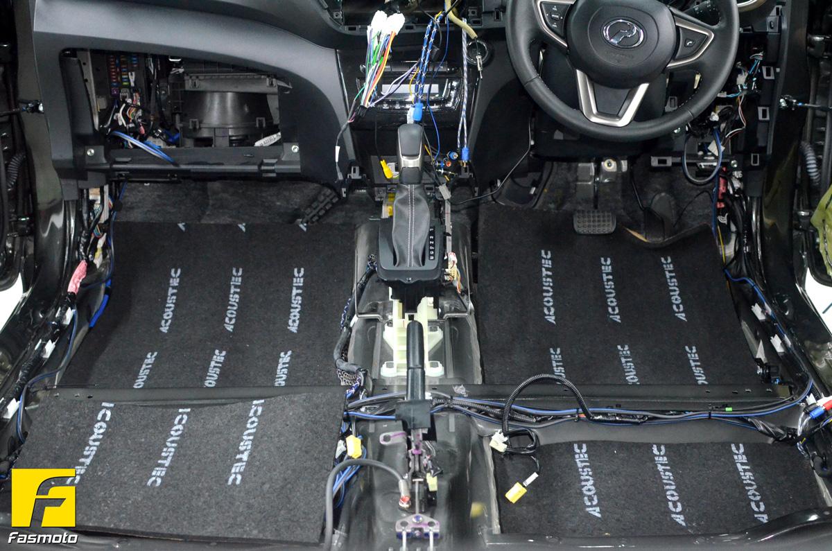 Myvi G3 Interior Soundproof