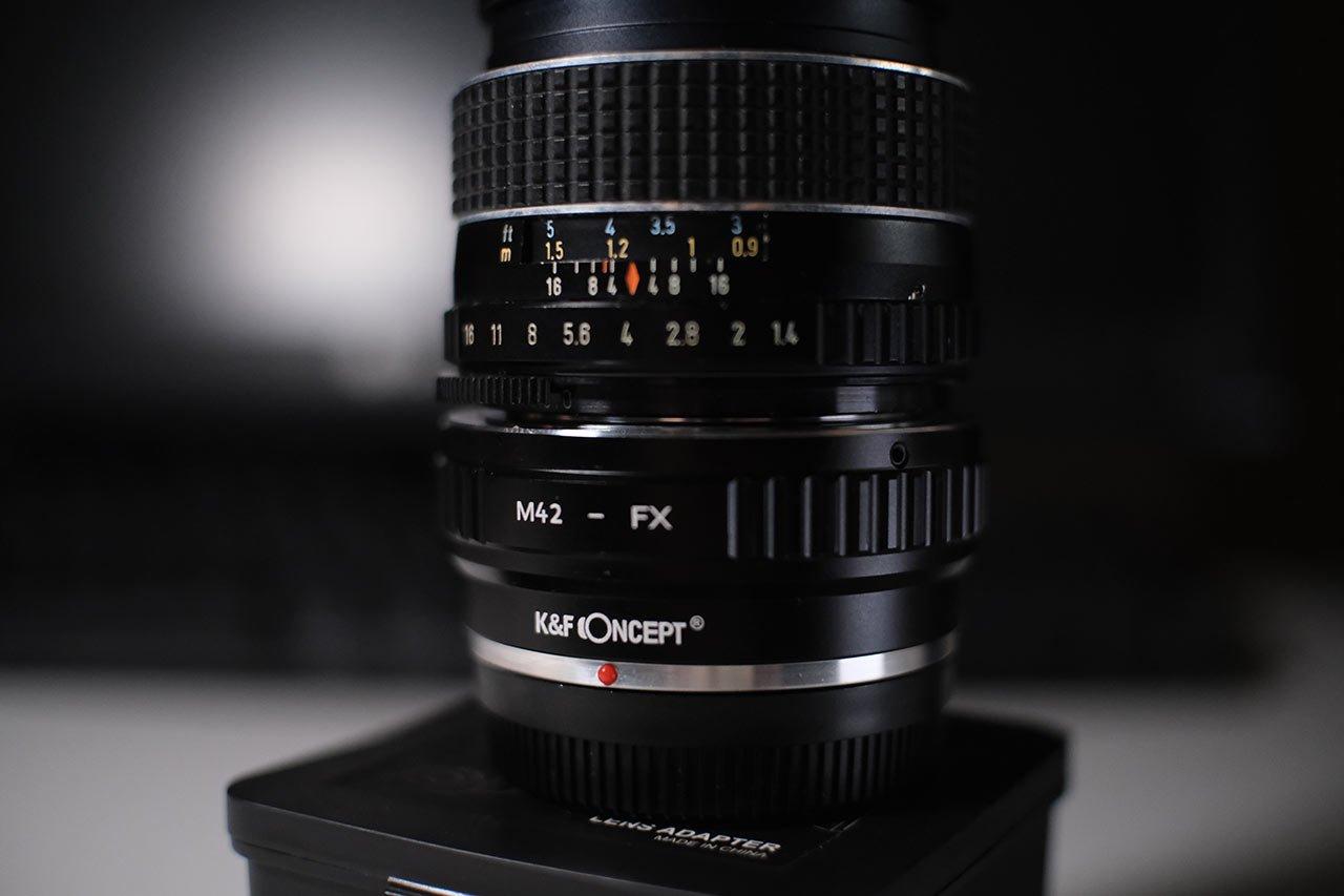K&F M42 To Fuji X Adapter