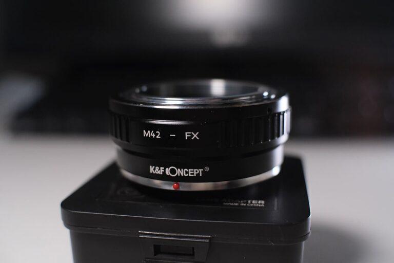 M42 Vintage Lenses Fuji X Adapter