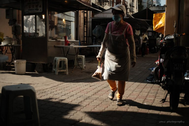 Chinese Food Stall Chinatown KL