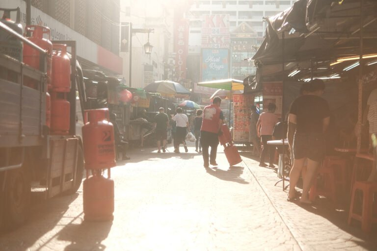 Chinatown KL in the morning