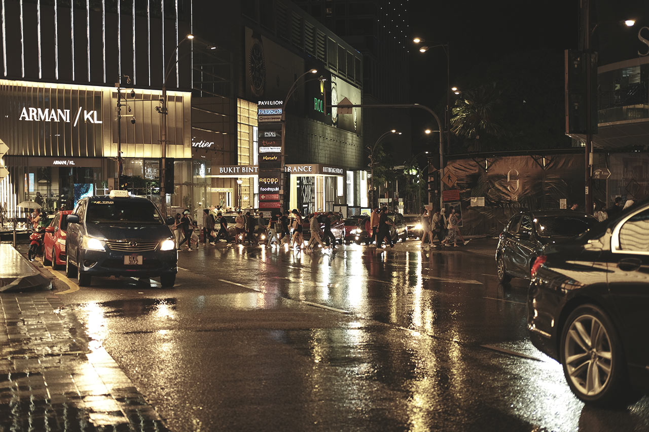Cinematic Film Recipe Fujifilm Downtown KL City - Matte