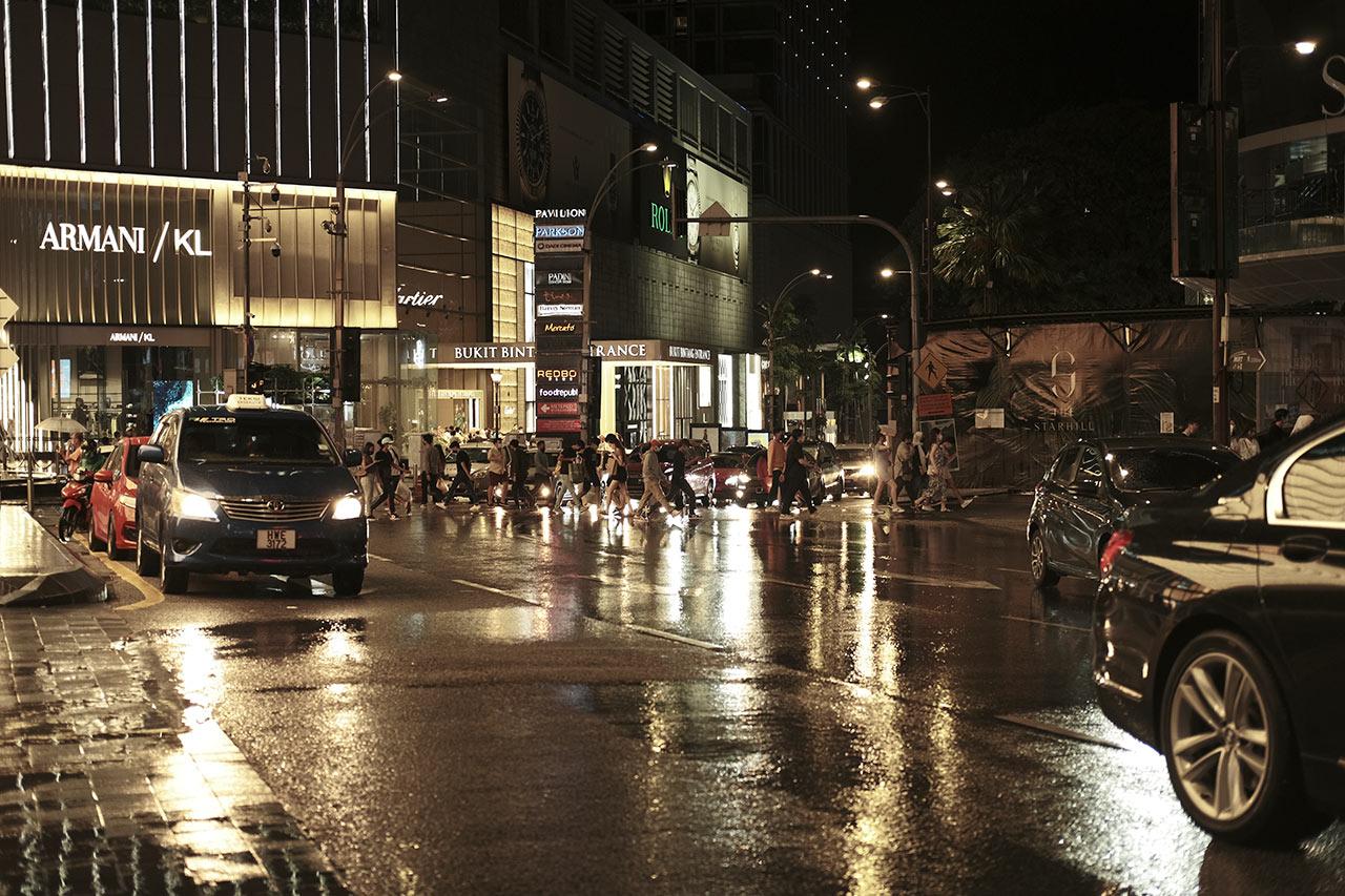 cinematic film recipe fujifilm downtown kl city