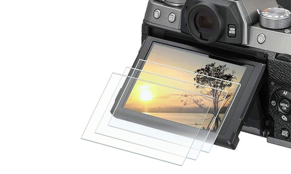 Tempered Glass LCD Protector Fuji X-T4